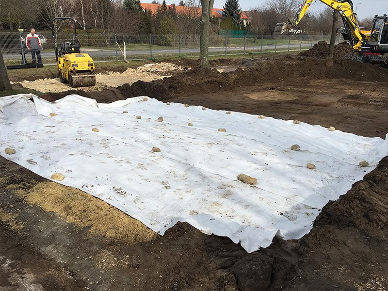 Közműépítés útépítés
